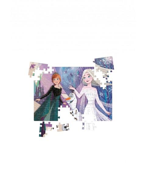 Puzzle z ozdobami Frozen 2 - 104 elementy wiek 6+