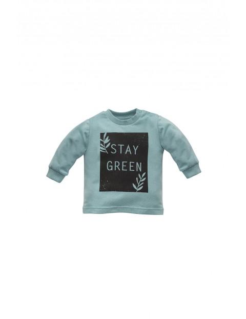 Bluzka niemowlęca - STAY GREEN
