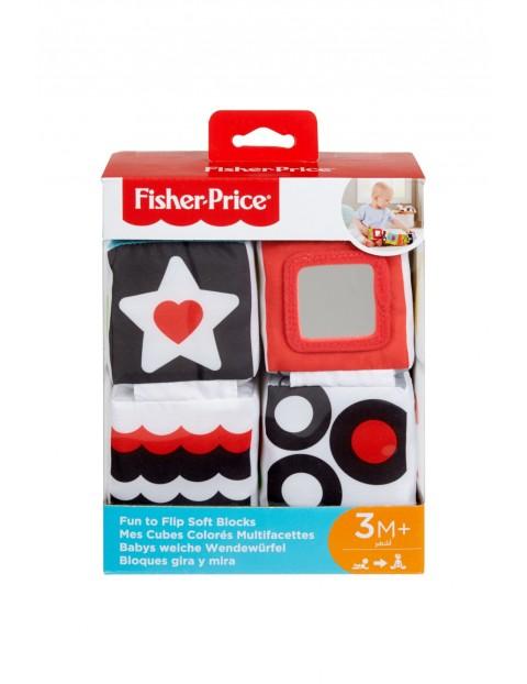Fisher Price Klocki miękkie sensoryczne 3msc+
