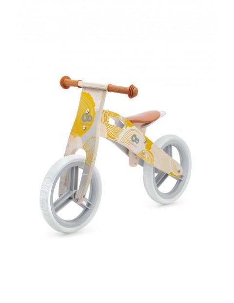 Rowerek biegowy Kinderkraft RUNNER żółty wiek 3+