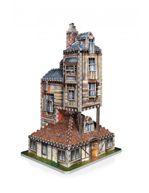 Harry Potter Wrebbit 3D puzzle The Burrow – Weasley Family Home 415 elementów