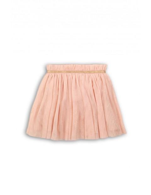 Spódnica tiulowa różowa przed kolano