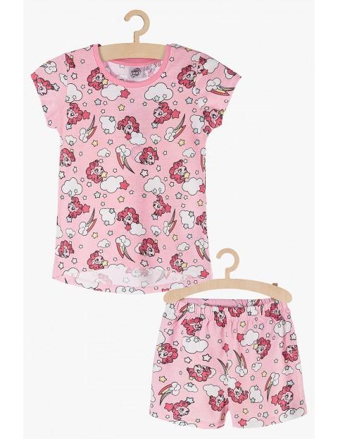 Pidżama dziewczęca My Little Pony biało-różowa