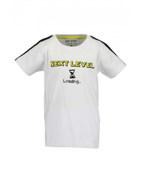 T-Shirt chłopięcy biały Next level