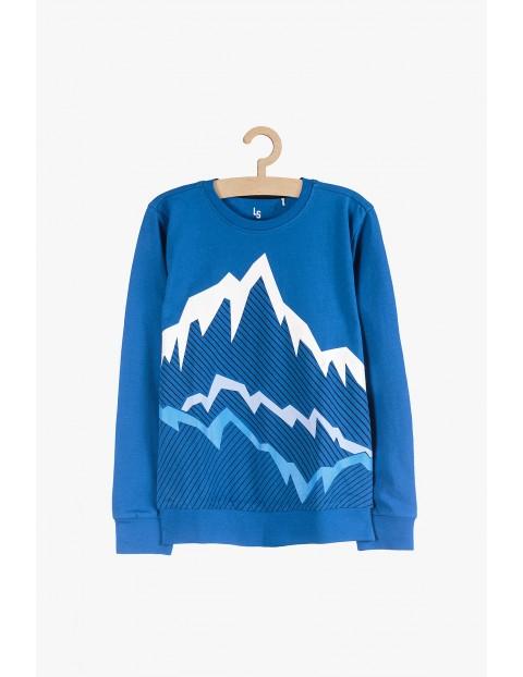 Cienka bluza dresowa dla chłopca- Góry