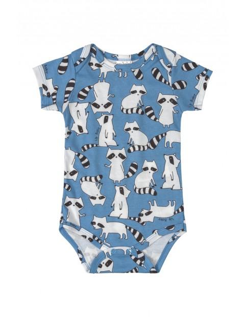 Body niemowlęce w szopy - niebieskie