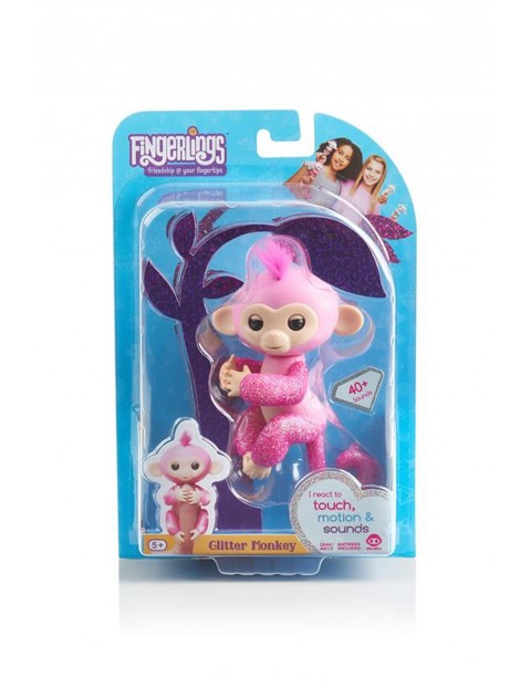 Fingerlings Małpka brokatowa Rose 3Y35JK