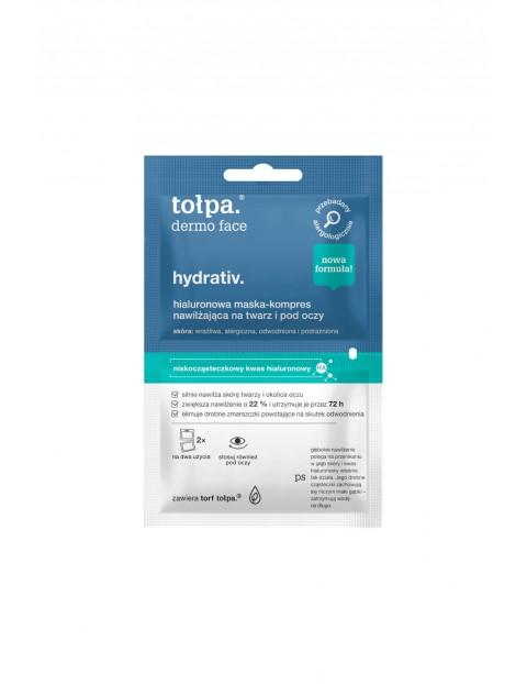 Tołpa dermo face hydrativ-hialuronowa maska-kompres nawilżający 2x6 ml