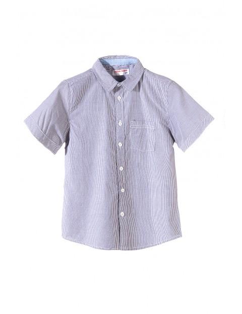 Koszula chłopięca krótki rękaw 2J3417