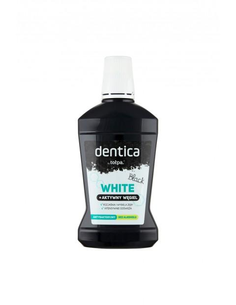 Dentica by tołpa płukanka z węglem aktywnym black white 500 ml