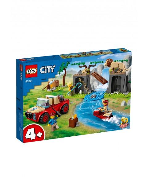 LEGO® City Terenówka ratowników dzikich zwierząt  60301- wiek 4+