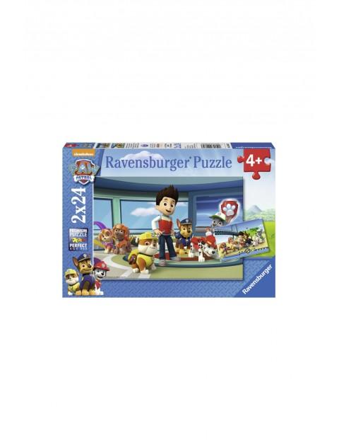 Puzzle Psi Patrol Pomocny Węch - 2x24 elementy