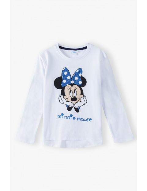Bluzka bawełniana dziewczęca Minnie
