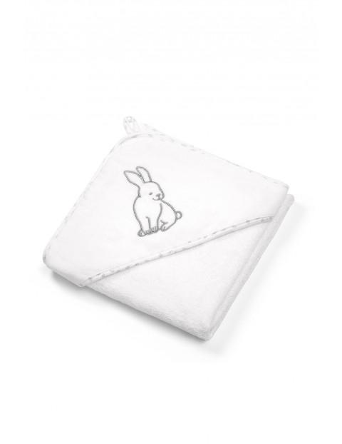 Okrycie kąpielowe bawełniane – ręcznik z kapturkiem 76x76cm