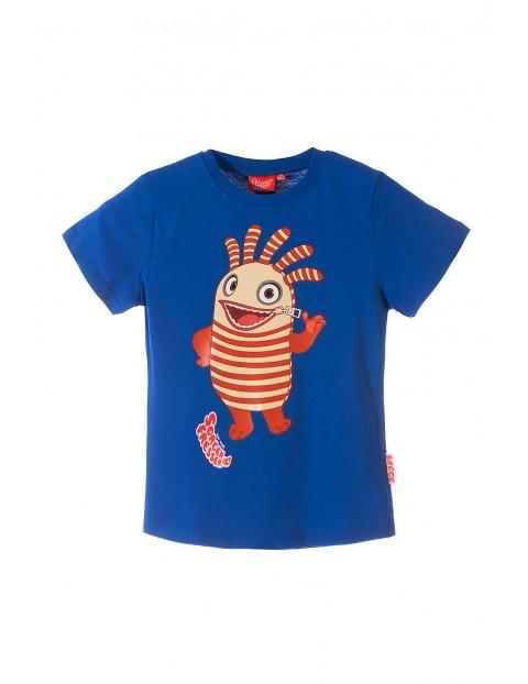 T-shirt chłopięcy 100% Bawełna 1I34DJ
