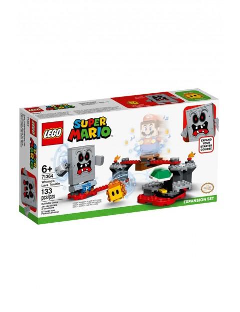 Lego Super Mario 71364-Tarapaty w forcie Whompa - zestaw rozszerzający - 133 elementy wiek 6+