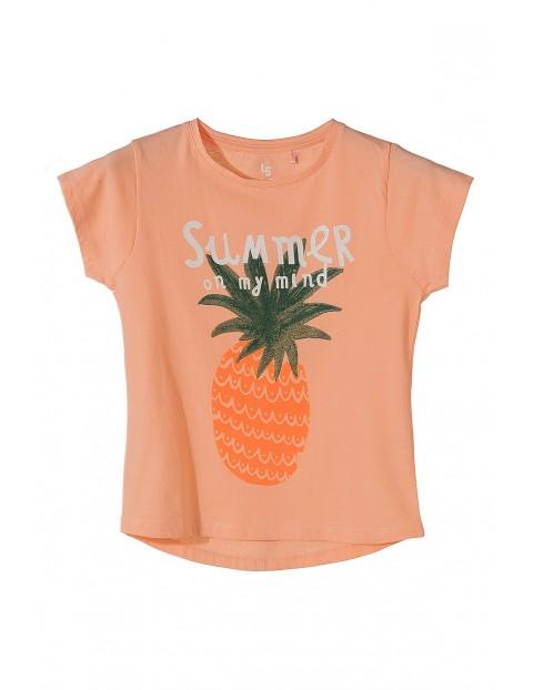 T-shirt dziewczęcy 4I3454