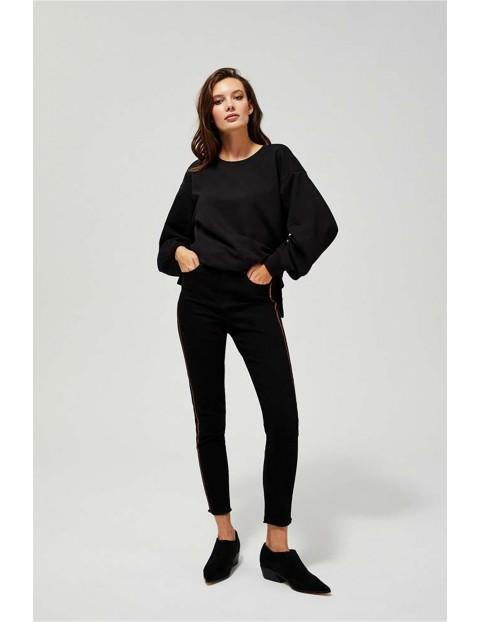 Jeansy damskie typu push up - czarne