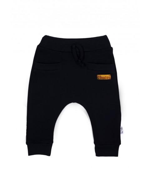 Spodnie dresowe chłopięce  - czarne