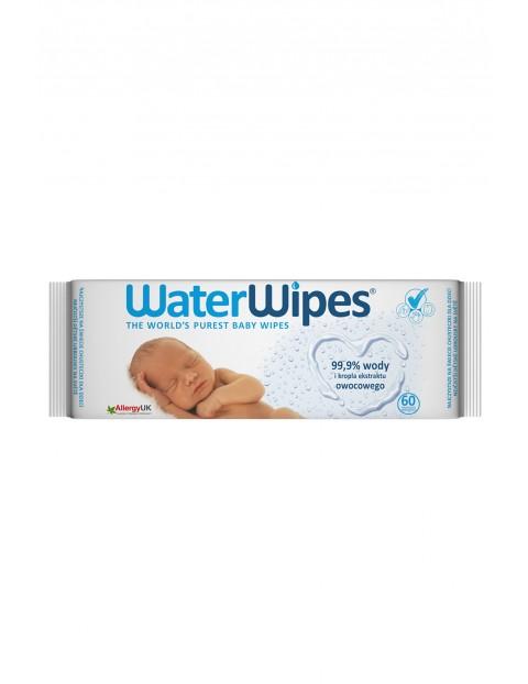 Chusteczki nasączane czystą wodą - 60szt