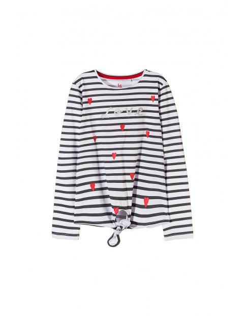Bluzka dziewczęca 100% bawełna 4H3504