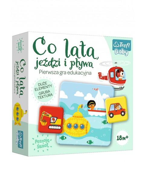 Gra Lata, Jeździ i Pływa- gra edukacyjna Trefl