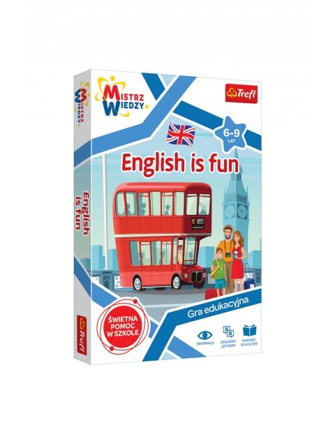 Gra dukacyjna- English is Fun/Mistrz Wiedzy 6+