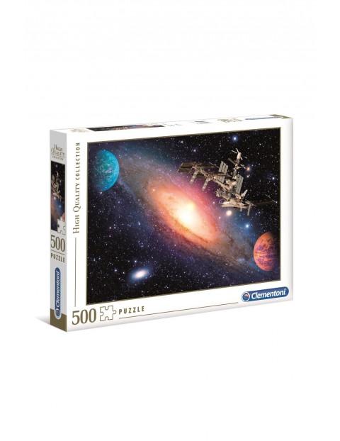 Puzzle Międzynarodowa stacja kosmiczna Clementoni - 500 el