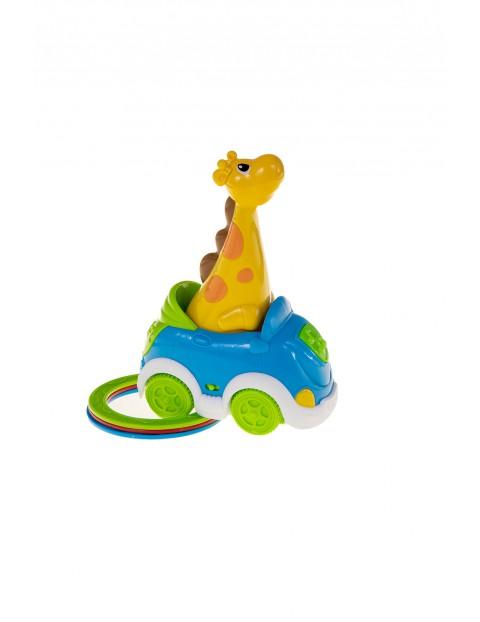 Zabawka niemowlęca - Żyrafka traf do celu wiek 18msc+