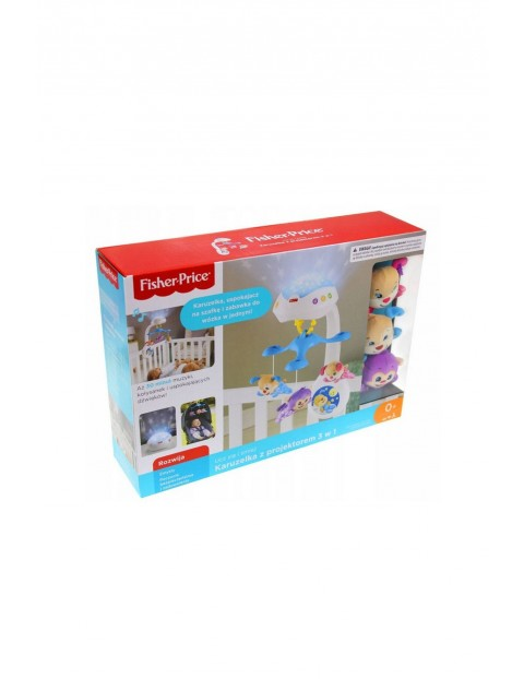 Fisher-Price Karuzelka z projektorem 3w1 0msc+