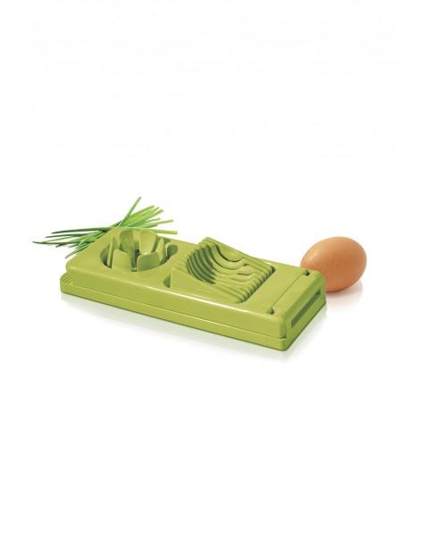 Krajalnica do jajek z dwoma rodzajami ostrzy