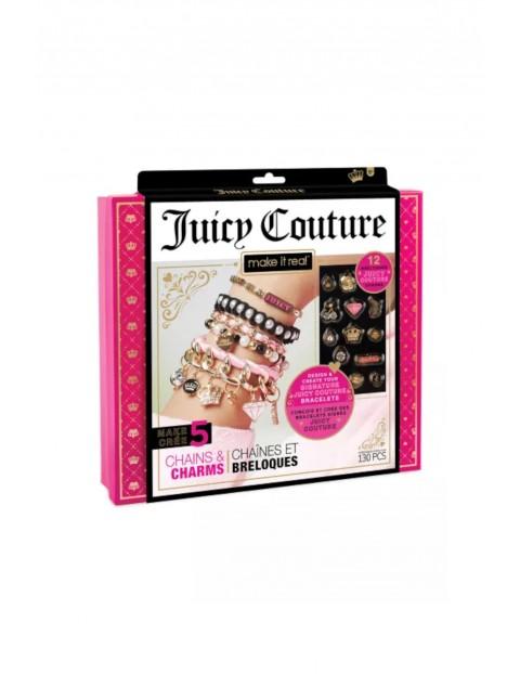 Make it Real Zestaw do tworzenia bransoletek Juicy Couture Chains & Charms 130el