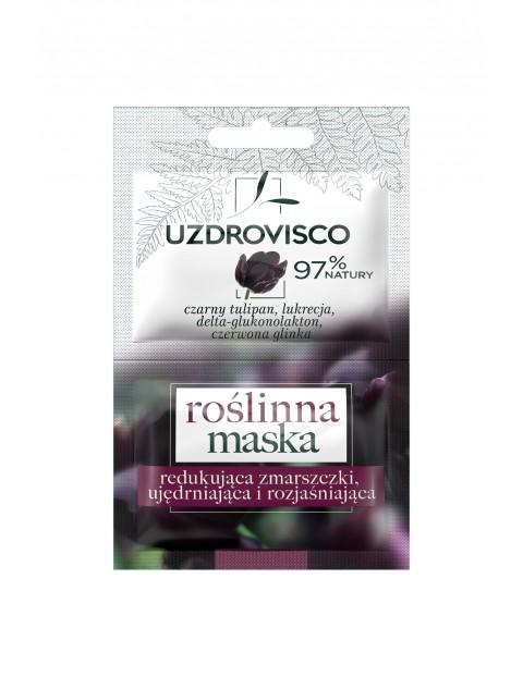 Maska redukująca zmarszczki Uzdrovisco Czarny Tulipan Roślinna 10 ml