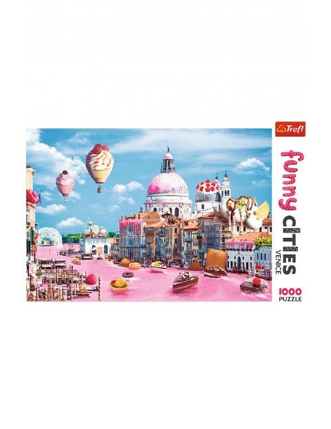 Puzzle Funny Cities - Słodycze w Wenecji - 1000 elementów