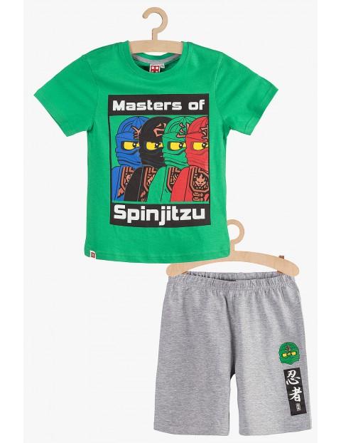 Pidżama chłopięca LEGO zielono-szara rozm 140
