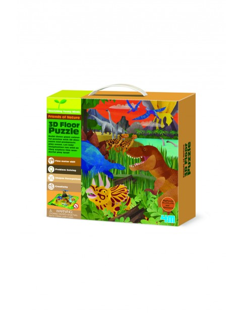Puzzle 3D- Dinozaury 1Y33B1