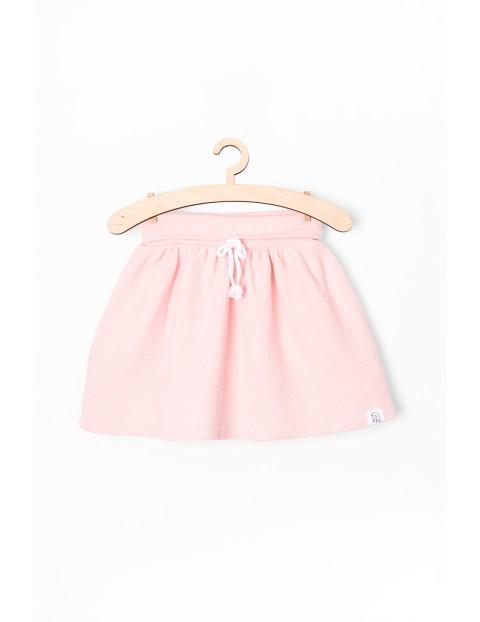 Spódniczka niemowlęca dzianinowa- różowa