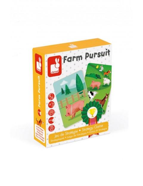 Gra strategiczna Wyścig na farmie JANOD 4+