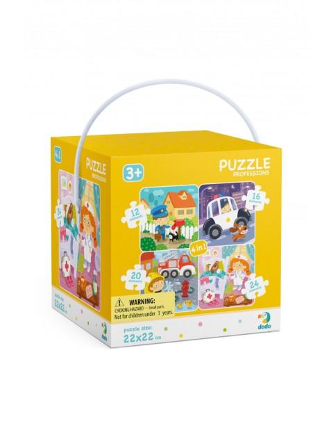 Puzzle 4w1 Moje Zawody- Dodo wiek 3+