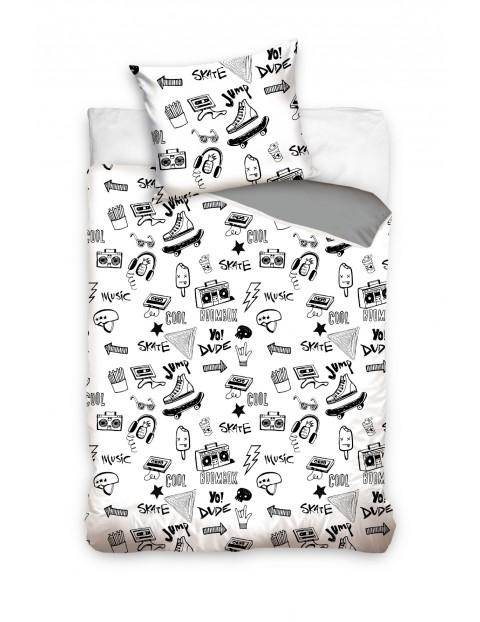 Komplet pościeli bawełnianej Cartoon Boy's 140x200+70x80 cm