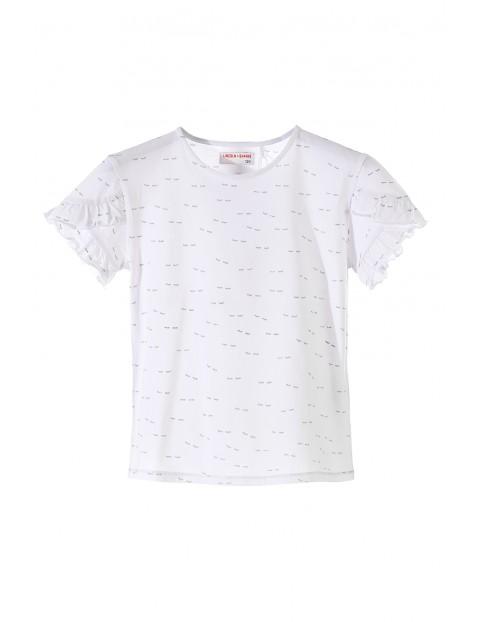T-shirt dziewczęcy 4I3418