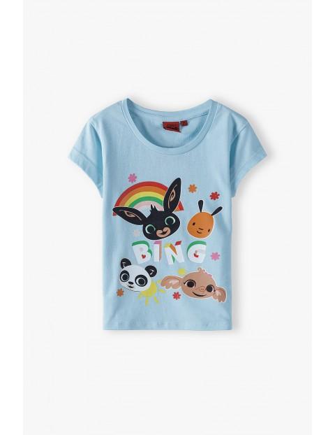 T-shirt dziewczęcy Bing- 100% bawełna