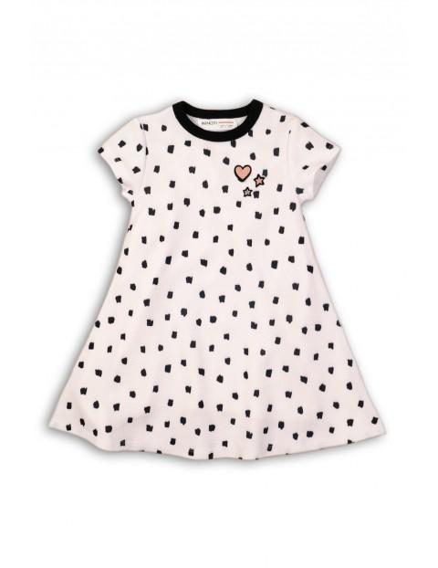 9f4379c0e2 Dzianinowa sukienka dla dziewczynki