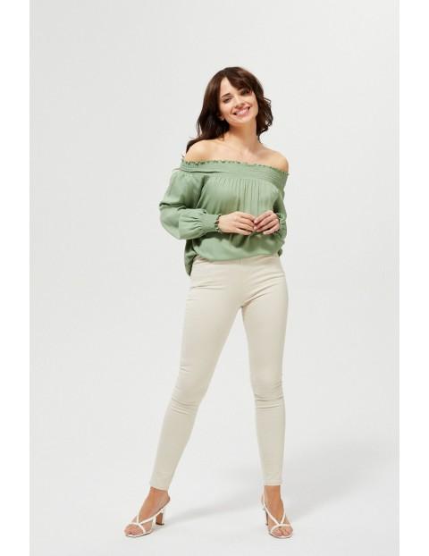 Spodnie damskie typu jegginsy