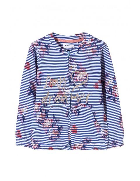 Bluza dresowa dziewczęca 3F3408