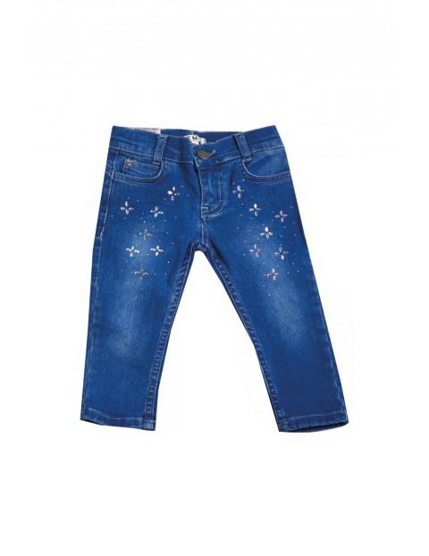 Spodnie dziewczęce jeansowe 3L35BD