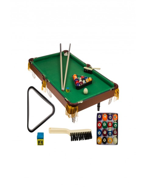 Drewniany zestaw - bilard - 92,5x5x51,5 cm