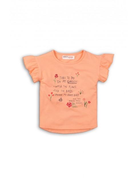 T-shirt niemowlęcy z napisami