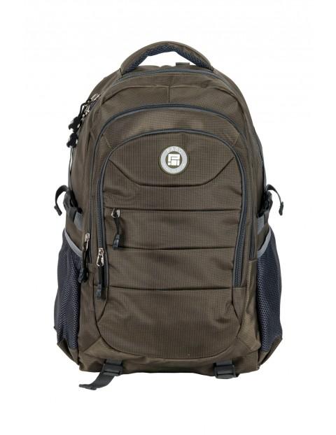 Plecak szkolny młodzieżowy- brązowy