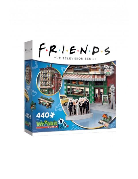 Wrebbit 3D puzzle Przyjaciele – Central Perk 440 elementów wiek 14+